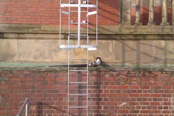 Metal Ladder for roof access