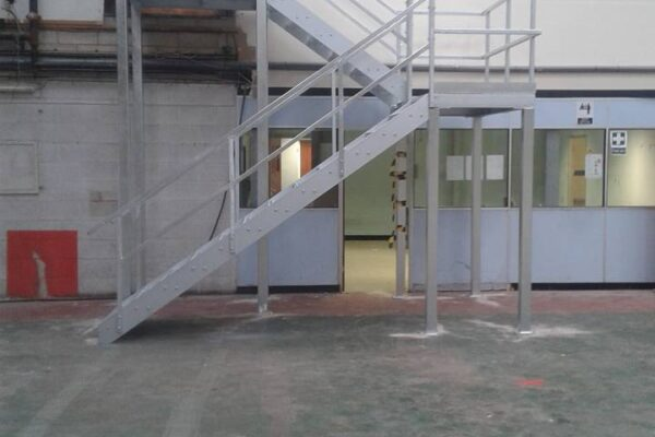 Metal Staircase Installation