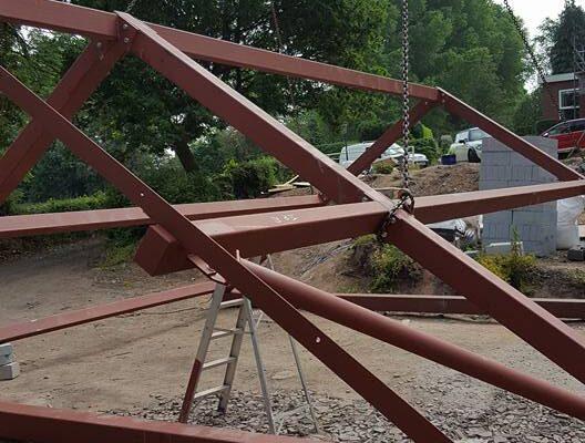 Metal Roof Frame
