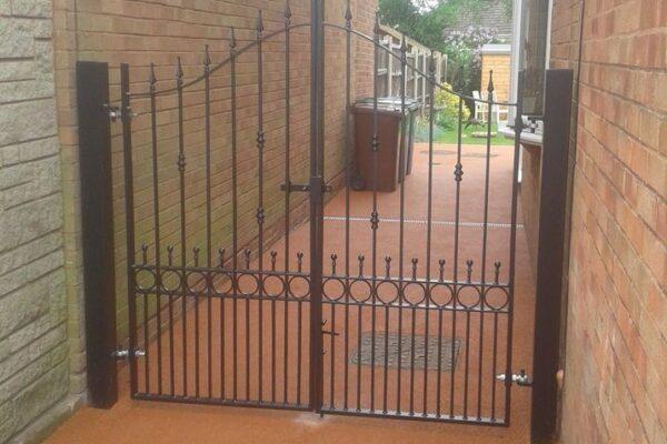 Iron Gate Installation