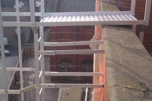 Utility Ladder Installation